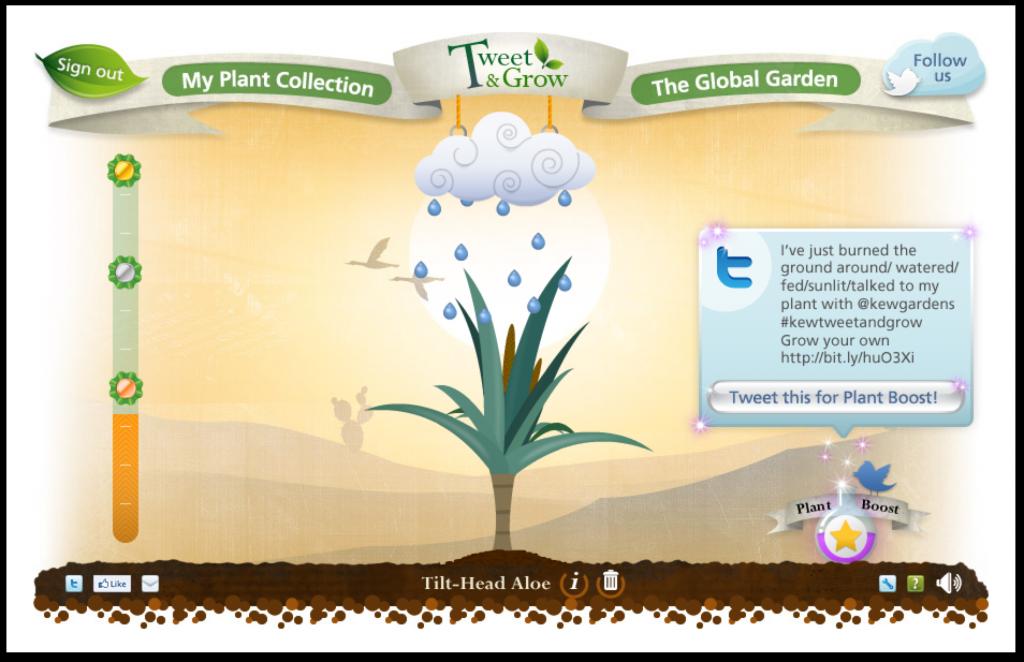 Tend my plant